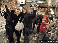Harry Potter fans in Paris
