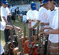 Guitarists in Shillong