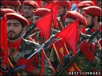 قوات من الحرس الثوري الإيراني