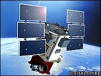 Quickbird satellite (Credit: Digital Globe)