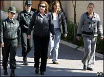 Gen Pinochet's daughters leave jail on 6 October after being briefly detained