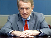 Sir Christopher Meyer, former ambassador to Washington, in March 2003