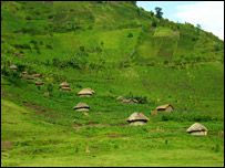 Remote villages outside of Kichanga