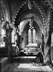 Rosslyn Chapel, Midlothian (Crown Copyright RCAHMS)