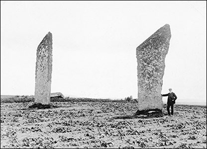 The Standing Stones of Stenness, Orkney (Crown Copyright RCAHMS)