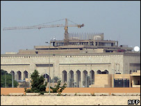 US embassy in Baghdad under construction - 11/10/2007