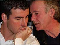 Joe Calzaghe and father Enzo