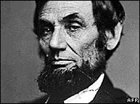 Abraham Lincoln (undated file photo)