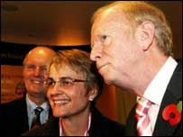 SDLP minister Margaret Ritchie was invited to speak