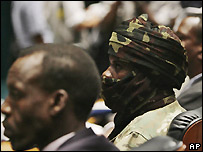 Representatives of Darfur rebel groups - 27/10/2007