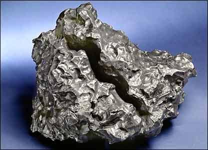 A Sikhote-Alin meteorite (image courtesy of Bonhams)