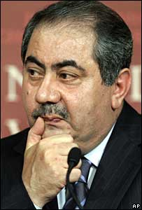 Iraqi Foreign Minister Hoshyar Zebari (1 October 2007)