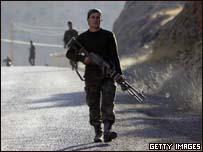 جنود اتراك قرب الحدود العر اقية