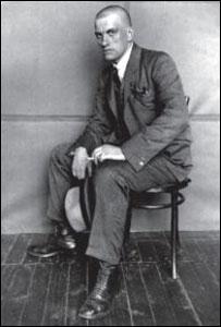 Владимир Маяковский в 1924 году (фото с сайта wikipedia. org)