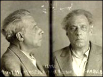 Тюремная фотография Всеволода Мейерхольда