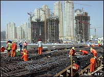Workers in Dubai - file photo
