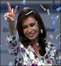 Cristina Kirchner (28 Oct)