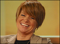 Patsy Palmer, pictured earlier this year