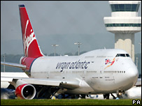 Virgin Boeing 747