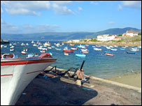The harbour at Lira. Image: BBC
