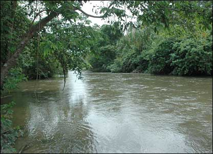 The Aracataca river