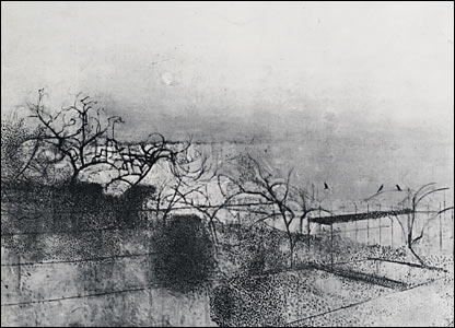 The Hanging Gardens of Hammersmith, No. 1 1944-7 by Victor Pasmore