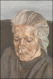 The Painter's Mother 1972 by Lucian Freud