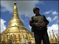 Soldado en Birmania