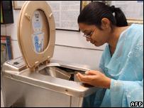Toilet museum in Delhi