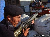 Policeman in Mingora