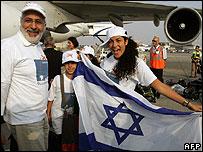 New Franco-Jewish immigrants to Israel
