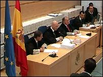 Judges read verdict in Madrid - 3110
