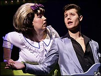 Leanne Jones and Ben James-Ellis in Hairspray