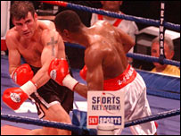 Joe Calzaghe v Charles Brewer