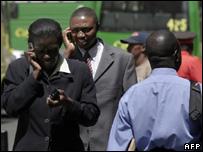 Mobile use in Rwanda