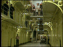 Interior de cárcel