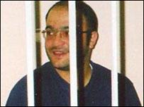 Эйнулла Фатуллаев в зале суда