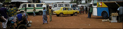 Sikasso's main bus station