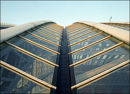 The restored roof with self-cleaning glass (photo: Troika)