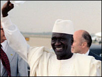 Guinea's former President Ahmed Sekou Toure (Picture from: US Department of Defense - www.dodmedia.osd.mil)