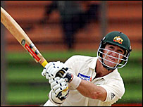 Australia opener Phil Jaques playing against Bangladesh in April 2006
