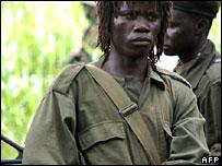 An LRA fighter (July 2006)
