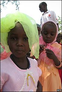 "Ni�as ""secuestradas"" en un orfanato de Abeche"