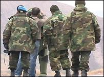 جنود أتراك على الحدود مع شمال العراق