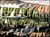Guatemala election posters