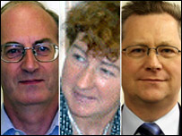 John Gallagher, Marveen Smith and John Socha were three of the experts