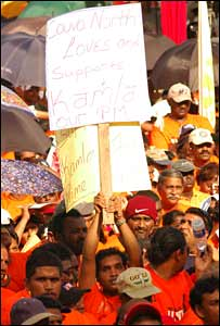 UNC rally in Trinidad. Photo by Max Ottley 