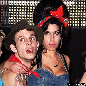 Amy Winehouse and her husband Blake Fielder-Civil