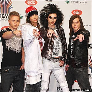 German rock band Tokio Hotel