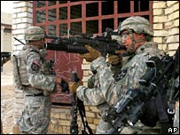US army soldiers in Iraq